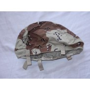 US Army 6-Color Chocolate Chip Desert Camo Helmet Cover