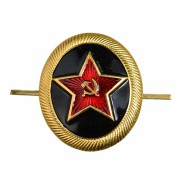 Russian Marine Infantry Beret Metal Badge
