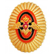 Officer Badge of Russian border troops