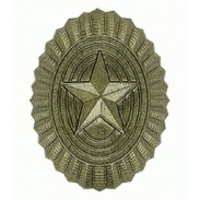 Russian Army Subdued Metal Badge