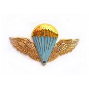 Breast Gold Badge of the paratroopers of the Armed Forces of Ukraine