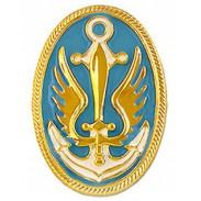 Ukrainian Marine Infantry Beret Plastic Badge