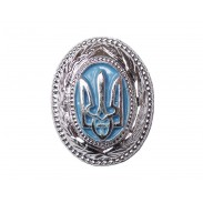 Ukrainian Police Hat / Cap Badge of General and high officers