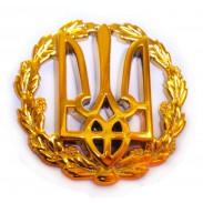 Ukraine Army Beret Insignia 2010 (plastic)