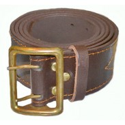 Officers Leather Belt Broun. Ukraine