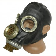 Soviet Russian Military Black Gas Mask PMG-2 (GP - 5M)