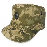 Ukraine Army Digi Camo Cap for General and Highest Officer's