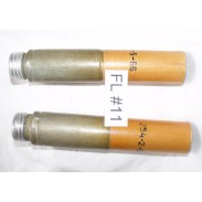 Soviet Lighting and signal reactive 2 x  40mm Flares USED