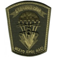 79th Airborne Assault Brigade Armed Forces of Ukraine. Subdued Patch Velcro