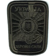 General Air Force Subdued Patch of the Armed Forces of Ukraine