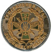 Joint Staff Subdued Patch Velcro. Ukraine