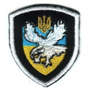 "Ukrainian Militia Special Unit Force ""BERKUT"" Cloth Badge"
