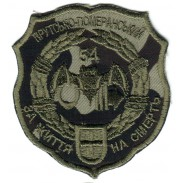 The 54-th Separate Intelligence Battalion Subdued Patch. Model 2011