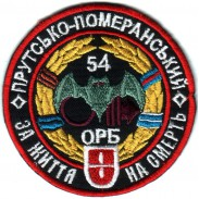 The 54-th Separate Intelligence Battalion Color Patch