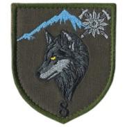 8th Separate Mountain Assault Battalion, Subdued Velcro Patch. Ukraine 2019