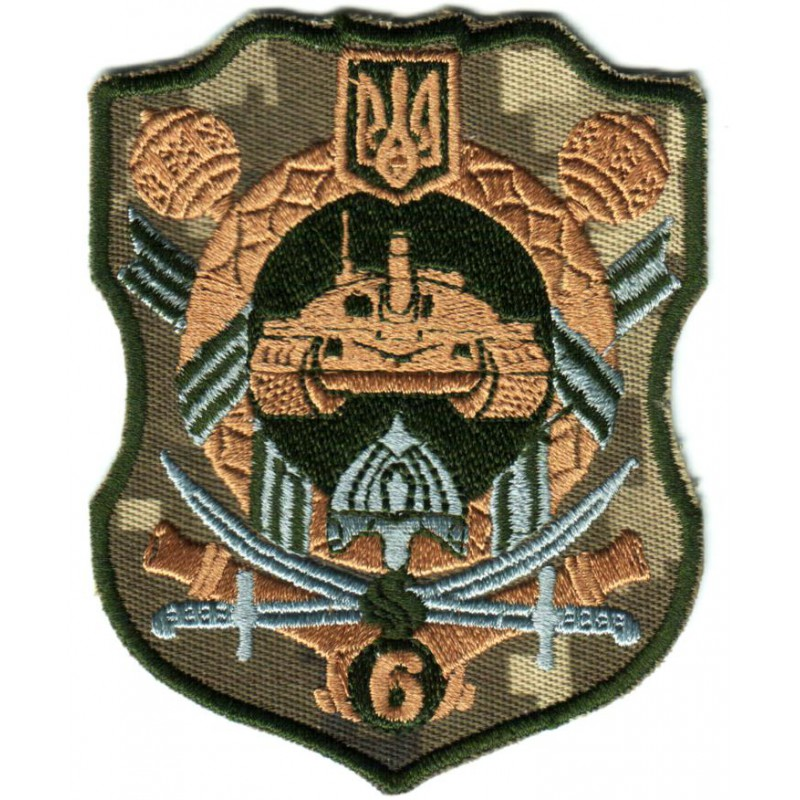 Shoulder Subdued patch the 6th Army Corps of the Armed
