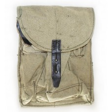 Soviet Army Issued AK-47, AK-74 Mag Pouch for 3 Mags