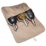 Soviet Russian Vintage Pouch for 3 Hand Grenades F-1 & RGD-5