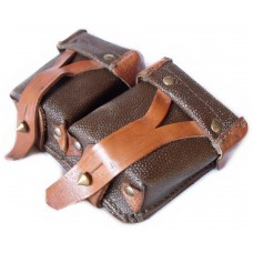 Soviet Army Double Pouches for Cartridges of Mosin RIFLE