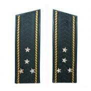 Shoulder straps of the Captain-lieutenant Ukraine Navy