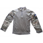 Ukraine Under Body Armour Combat Shirt Digital Camo MM-14