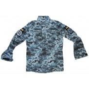 Ukraine Naval Digital Blue Camo Uniform 2018